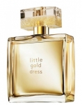 Avon Little Gold Dress dama