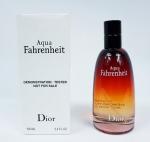 Christian Dior Fahrenheit Aqua TESTER barbat