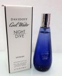 Davidoff Cool Water Night Dive TESTER dama