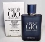 Giorgio Armani Acqua Di Gio Profondo TESTER barbat