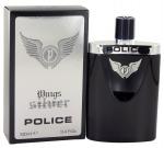 Police Wings Silver barbat