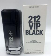 Carolina Herrera 212 VIP Black TESTER barbat