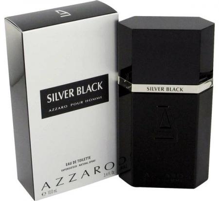 AZZARO Silver Black barbat