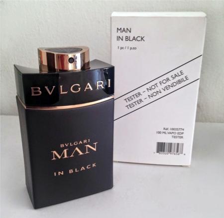 Bvlgari Man In Black TESTER barbat