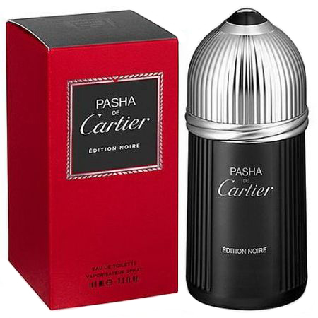 Cartier Pasha Noir barbat