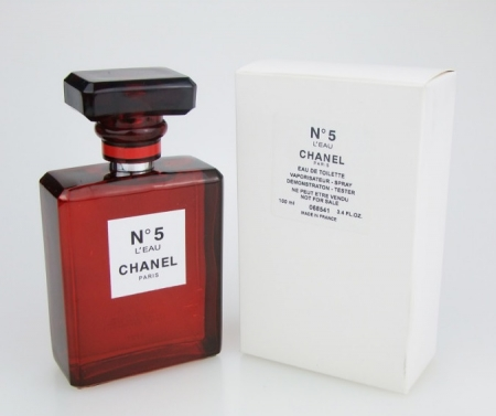 Chanel No 5 Red TESTER dama
