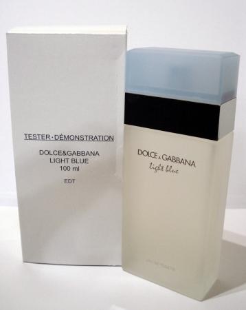 Dolce Gabbana Light Blue TESTER dama