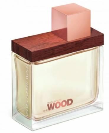 DSQUARED She Wood Velvet dama
