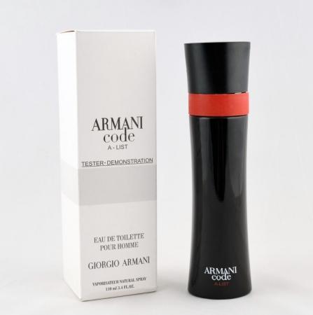 Giorgio Armani Code A List TESTER barbat