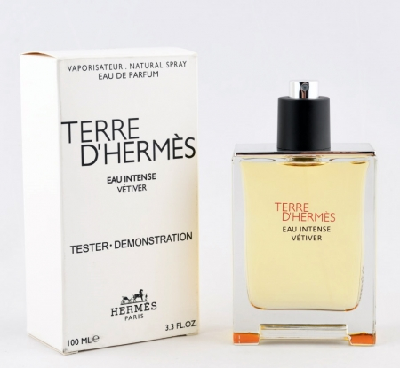 Hermes Terre D`Hermes Intense Vetiver TESTER barbat
