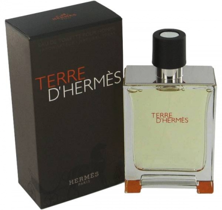 HERMES Terre d`Hermes parfum ORIGINAL barbat